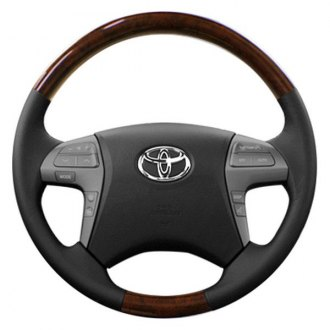 Sherwood® - Steering Wheel with Lavishwood Inserts and Bisque Leather