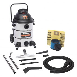 Shop-Vac® - 16 Gallon Professional Stainless Steel Vacuum