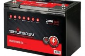 Shuriken® - Car Audio Power Cell 110 Ah, 12 V
