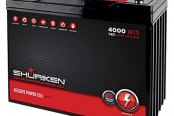 Shuriken® - Car Audio Power Cell 140 Ah, 12 V