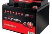 Shuriken® - Car Audio Power Cell 45 Ah, 12 V