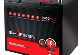 Shuriken® SK-BT60 - Car Audio Power Cell 60 Ah, 12 V