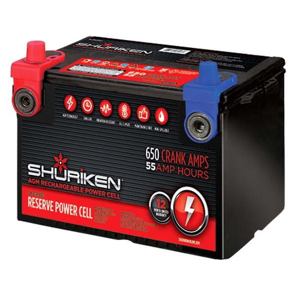 Shuriken® - Car Audio Power Cell 55 Ah, 12 V