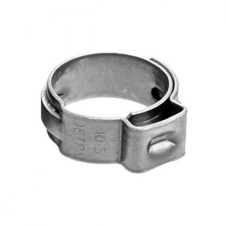 "Sierra® - 10-Piece 1/2"" Diameter Stainless Steel Hose Clamps"