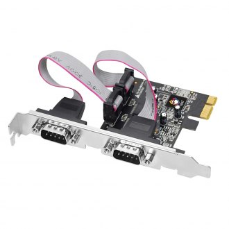 Siig® - 2-port PCI Express Serial Adapter