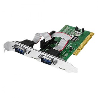 Siig® - 2-port PCI Serial Adapter