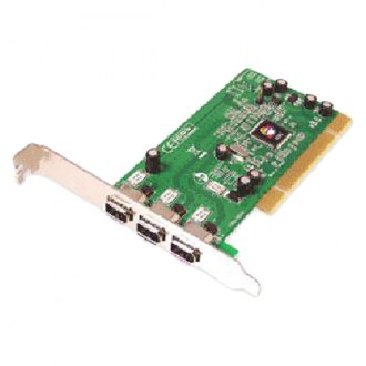 Siig® - 3-port PCI 1394 FireWire Adapter