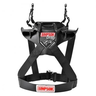 Simpson® - Hybrid Sport X-Small with Sliding Tether PA FIA