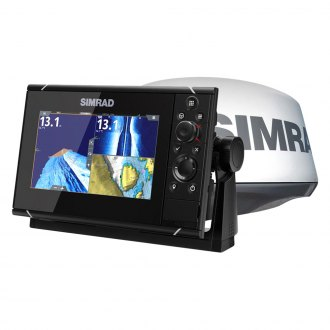 Simrad® - NSS EVO3 Multifunction Display with C-Map Insight Charts and 4G™ Radar