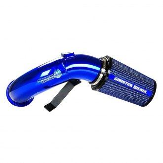 Sinister Diesel® - Aluminum Cold Air Intake System with Blue Filter