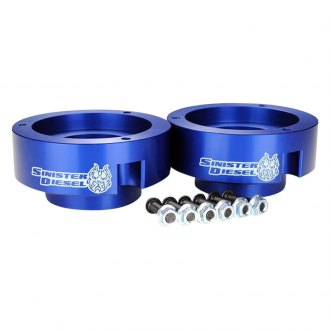 "Sinister Diesel® - 2"" Front Leveling Coil Spring Spacers"