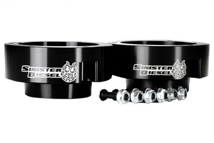Sinister Diesel® Front Leveling Coil Spring Spacers