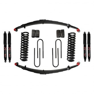 "Skyjacker® - 9"" x 8"" Standard Series Front and Rear Suspension Lift Kit"