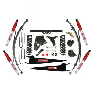 "Skyjacker® - 4"" x 3""-3.5"" Standard Series Class 2 Front and Rear Suspension Lift Kit"