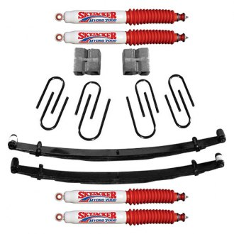"Skyjacker® - 2.5"" x 2"" Softride™ Front and Rear Suspension Lift Kit"