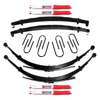 "Skyjacker® - 4"" x 3.5"" Softride™ Front and Rear Suspension Lift Kit"