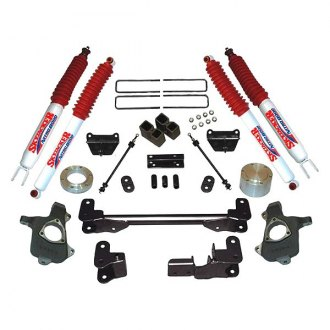 "Skyjacker® - 6"" x 5.5"" Front and Rear Lift Pallet Kit"