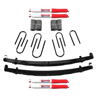 "Skyjacker® - 4"" x 2""-2.5"" Softride™ Front and Rear Suspension Lift Kit"