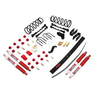 "Skyjacker® - 6"" x 4"" Standard Series Front and Rear Suspension Lift Kit"