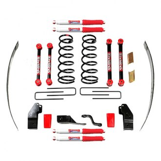 "Skyjacker® - 4""-4.5"" x 3"" Standard Series Front and Rear Suspension Lift Kit"