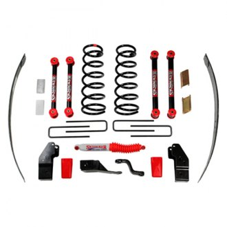 "Skyjacker® - 4.5""-5.5"" x 4"" Standard Series Class 1 Front and Rear Suspension Lift Kit"