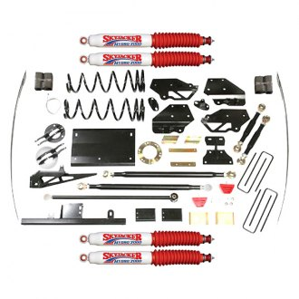 "Skyjacker® - 7"" x 5"" Front and Rear Long-Travel Suspension Lift Kit"