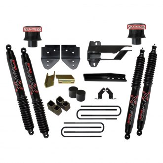 "Skyjacker® - 4"" x 3.5"" Aluminum Front and Rear Coil Spacer Lift Kit"