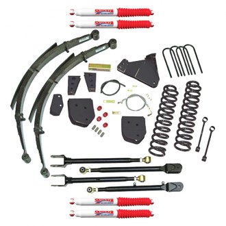 "Skyjacker® - 8.5"" x 6.5"" Standard Series Class 2 Front and Rear Suspension Lift Kit"