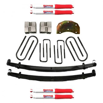 "Skyjacker® - 5""-6"" x 3.5"" Softride™ Front and Rear Suspension Lift Kit"