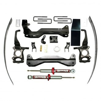 "Skyjacker® - 4""-6"" x 3.5""-4"" Performance Strut Series Front and Rear Suspension Lift Kit"