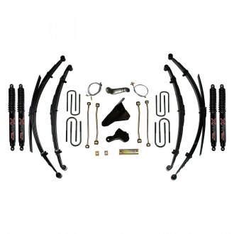 "Skyjacker® - 8"" x 6.5"" Softride™ Front and Rear Suspension Lift Kit"