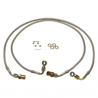 Skyjacker® - Front Stainless Steel Brake Lines