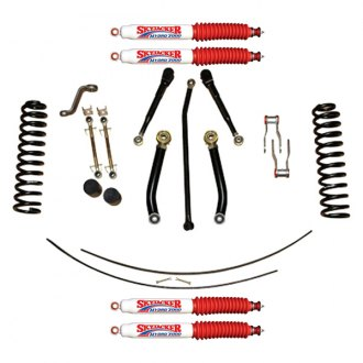 "Skyjacker® - 4.5"" x 2"" Value Flex Series Front and Rear Suspension Lift Kit"