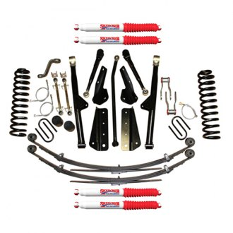 "Skyjacker® - 4.5"" x 2"" Rock Ready™ 2 Series Front and Rear Suspension Lift Kit"