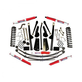 "Skyjacker® - 6"" x 4""-5.5"" Sport Coil Spring Front and Rear Suspension Lift Kit"
