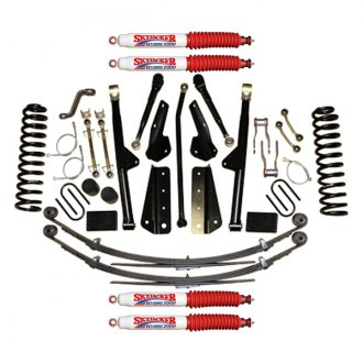 "Skyjacker® - 6"" x 4""-5.5"" Rock Ready™ 2 Series Front and Rear Suspension Lift Kit"