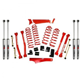 "Skyjacker® - 4""-5"" x 3""-3.5"" Standard Series Front and Rear Suspension Lift Kit"