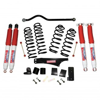 "Skyjacker® - 4"" x 4"" Softride™ Coil Spring Front and Rear Suspension Lift Kit"