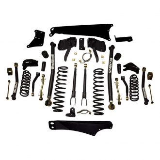 "Skyjacker® - 4""-5"" x 3""-3.5"" Front and Rear Long-Travel Suspension Lift Kit"