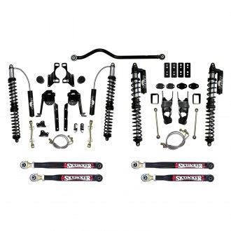 "Skyjacker® - 3.5""-4.5"" x 3.5""-4.5"" LeDuc Series™ Coilover Front and Rear Suspension Lift Kit"