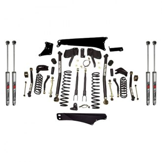 "Skyjacker® - 6""-7"" x 4""-5.5"" Front and Rear Long-Travel Suspension Lift Kit"