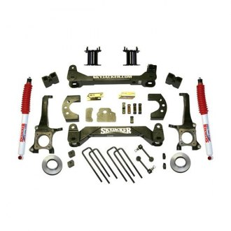 "Skyjacker® - 6"" x 4.25"" Standard Series Front and Rear Suspension Lift Kit"