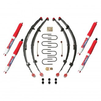 "Skyjacker® - 4"" x 3""-3.5"" Sport Coil Spring Front and Rear Suspension Lift Kit"