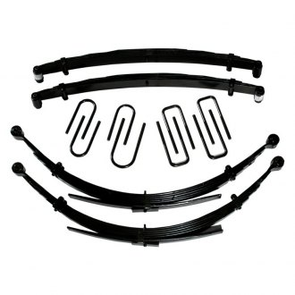 "Skyjacker® - 2.5"" Softride™ Front Lifted Leaf Springs"