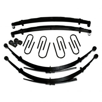 "Skyjacker® - 8"" Softride™ Front Lifted Leaf Springs"
