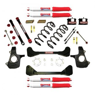 "Skyjacker® - 4"" x 2"" Standard Series Front and Rear Suspension Lift Kit"