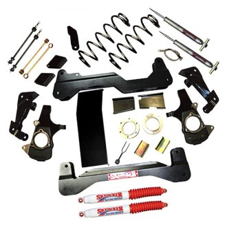 "Skyjacker® - 6"" x 4""-5"" Standard Series Front and Rear Suspension Lift Kit"