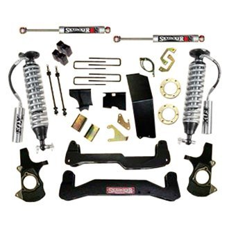 "Skyjacker® - 6"" x 4.5""-5.5"" LeDuc Series™ Coilover Front and Rear Suspension Lift Kit"