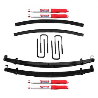 "Skyjacker® - 4"" x 2"" Softride™ Front and Rear Suspension Lift Kit"