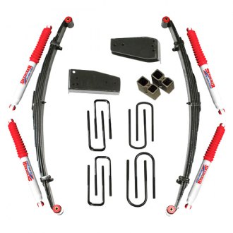 "Skyjacker® - 6"" x 4.5"" Softride™ Front and Rear Suspension Lift Kit"